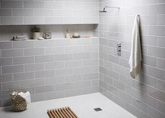 bathroom inspiration hexagon tiles - Google-haku