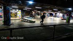 Skatepark in London.