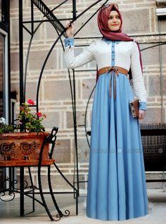 Style Laced Dress - Ecru - Gamze Polat