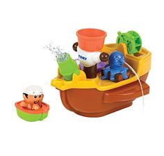 Tomy Bath Pirate Ship Bath Toy * You can find more details by visiting the image link.Note:It is affiliate link to Amazon.