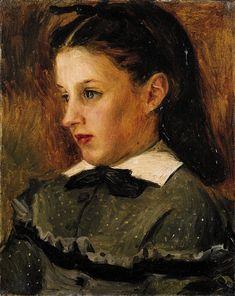 Renoir, Portrait de Marie Le Cœur, Musée d'art moderne et contemporain, Strasbourg