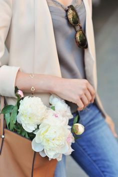 Neutrals and flowers