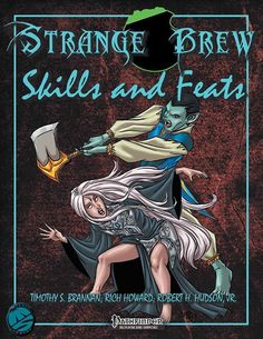 Cover from Strange Brew: Skills and Feats