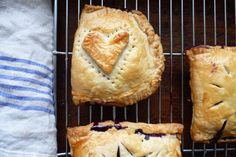 Simple Hand Pies - easy little pies to make with Oli when she can help with stuff like this.