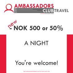500 off per night. Sports Clubs, Culture Travel, Night