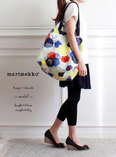 "marimekko マリメッコ "" MARJORIE "" キャンバストートバッグ*送料無料*【楽天市場】"