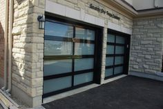 modern garage doors | Home Gallery Modern Garage Door Sizes Modern Garage Doors Options ...Same color house!!