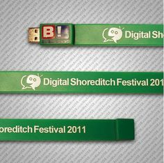 Digital Shoreditch Festival Wristband USB