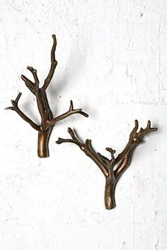 "Branch Hook - Set of 2 - perfect for ""enchanted forest"" nursery!"