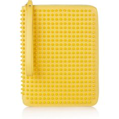 Christian Louboutin Cris spiked leather iPad case ($795) ❤ liked on Polyvore