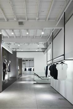 Theory shop Melrose, Los Angeles, 2013 by Nendo #retails #shop #minimal #nendo