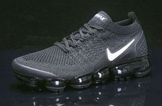 Free shipping Nike Air Vapormax 2018 Flyknit Pure Platinum Men's Trainers All  S #fashion #clothing #shoes #accessories #mensshoes #athleticshoes (ebay link) Jordan Basketball Shoes, Nike Air Vapormax, New Nike Air, Running Shoes Nike, Nike Shoes, Nike Vapormax Flyknit, Air Max Sneakers, Sneakers Nike, Black And White Shoes