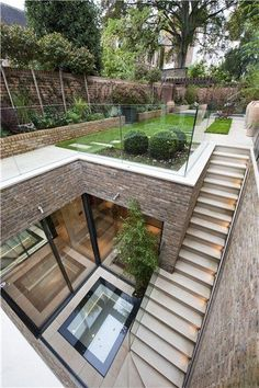 landscape architecture design Five bedroom terraced new house in South End, London - off High Street Kensington - listed on Zoopla for Architecture Design, Amazing Architecture, Garden Architecture, Sustainable Architecture, Seattle Architecture, Residential Architecture, Contemporary Architecture, Creative Architecture, Stairs Architecture