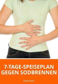 Sodbrennen ist ein Leiden, das inzwischen als Volkskrankheit in Deutschland gilt. Es ist nicht nur unangenehm und beeinträchtigt unser Wohlbefinden, sondern kann unbehandelt auch zu schweren Folge-Erkrankungen führen. Üppige, fettreiche Mahlzeiten können Sodbrennen auslösen oder verschlimmern. Betroffene sollten daher ihre Ernährungsgewohnheiten umstellen und Nahrungsmittel meiden, die den Magen reizen. Der nachfolgende Speiseplan soll dabei helfen, die Ernährung langfristig umzustellen.