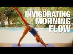 Invigorating Morning Flow Yoga Class - Five Parks Yoga - YouTube- Great well balanced flow with lots of sun salutations. 38 Minutes