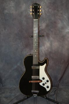 Silvertone Model 1420 Stratotone DeArmond Pickups Pro Setup Original Case 1963   Reverb.com. Give us a call. Lawman Guitars 515-864-8136