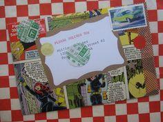 CappuccinoAndArtJournal: handmade envelopes