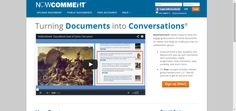 NowComment makes it easy to have rich, engaging discussions of online documents no matter how large (or small) your class or collaboration group.
