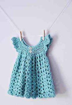 10 free crochet baby girl dresses
