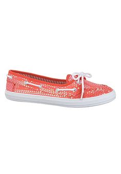 Topanga sequin boat shoe (original price, $24) available at #Maurices