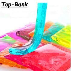 30g/bag Crystal Mud play doh  for kids Fimo Polymer Clay Air Dry plasticine magic playdough play-doh children's crystal soil