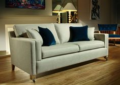 Domus Hopper Sofa Collection from George Tannahill & Sons - Large sofa ideas. Grand fabric sofas.
