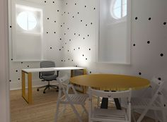 Fundação do Gil #final #render #imagemvirtual #3D #study #office #upcycled #decor #interiors #interiordesign #details #remodelação #fundaçãodogil #solidariedade #crianças #child #furniture #design #arquitetura #interiores #homestoriespt #umaobraumahistória