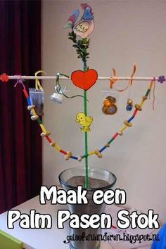 Kopje Thee(a): Palm Pasen Stokken DIY