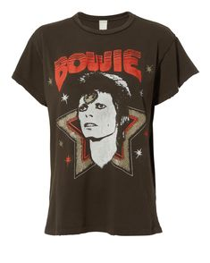 e04bdd731a Bowie Stardust Distressed T-Shirt Love this one! With jean shorts it would  be