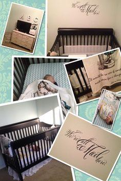 Alice in wonderland baby girls room in progress