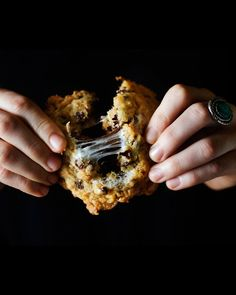 "Cornflake-Chocolate Chip-Marshmallow Cookies.    A bowl of cereal, s'more, and cookie all rolled into one, this recipe from Christina Tosi's ""Momofuku Milk Bar"" cookbook is guaranteed to please."