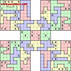 247557310737456714 on Sudoku High Fives Simple