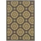 Skye Grey 7 ft. 10 in. x 10 ft. 10 in. Indoor/Outdoor Area Rug