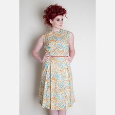 Florist 50s Day Dress....totally <3 this