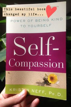 Everyone needs to read this ❤︎ Self-compassion by Kristin Neff is a beautiful, life changing book! Self Love Books, Cool Books, Life Changing Books, Life Changing Quotes, Funny Quotes, Life Quotes, Feeling Inadequate, Psychology Books, Self Compassion