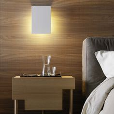 Corrubedo is a wall lamp with no-frills geometric lines that can be installed with the light source pointing either up or down, depending on where the beam of...