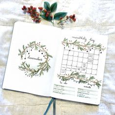 christmas bullet journal bujo planner ideas for we.christmas bullet journal bujo planner ideas for we. - bujo Bullet Christmas Ideas Journal Photos and Videoscollege leaf layout one page tips quotes washi Bullet Journal Weekly Layout, December Bullet Journal, Bullet Journal Monthly Spread, Bullet Journal Cover Page, Bullet Journal 2020, Bullet Journal Aesthetic, Bullet Journal Ideas Pages, Journal Covers, Bullet Journal Inspiration