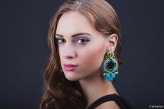 Fantasy, Drop Earrings, Jewelry, Fashion, Soutache Jewelry, Moda, Jewlery, Jewerly, Fashion Styles