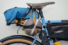 I Got the Blues: a Bombus Bikes Blue Steel Tourer – Kyle Kelley | The Radavist