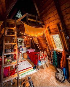 Best Home Decored Bohemian Patio 44 Ideas Cozy Cabin, Cozy House, Dream Rooms, Dream Bedroom, Cabins And Cottages, Stylish Home Decor, Cozy Room, Aesthetic Bedroom, Cabin Homes