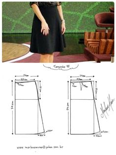 Amazing Sewing Patterns Clone Your Clothes Ideas. Enchanting Sewing Patterns Clone Your Clothes Ideas. Skirt Patterns Sewing, Sewing Patterns Free, Clothing Patterns, Sewing Hacks, Sewing Tutorials, Sewing Tips, Sewing Clothes, Diy Clothes, How To Make Skirt