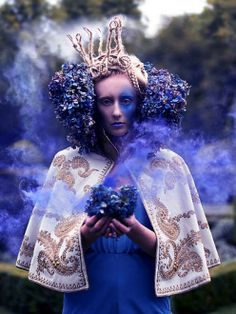 ❀ Flower Maiden Fantasy ❀ beautiful art fashion photography of women and flowers - Kirsty Mitchell
