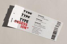 Type Obsession / Aga Pomaranska & Aga Klawinowska Matthew Carter, Admit One, Aga, Tobias, Commercial, Type