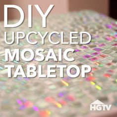 DIY Mosaic Tabletop