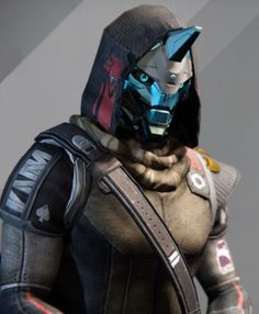 Cayde-6 is the Vanguard for the Hunter class. He is located in the Tower and sells Hunter armor, emblems, and Vanguard armor. All Guardians can purchase and #destiny
