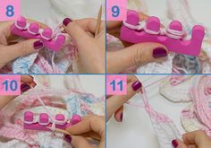 """Have you ever heard of finger knitting? I've tried it out, unfortunately after 2 days of knitting I had cramps in the fingers, and the result didn't look that """"pretty"""". Practically inclined as I am, I was looking for something """"finger-like"""" and found it in my manicure / pedicure set. Here are the step-by-step instructions …"""