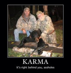 #Demotivational Posters: Karma
