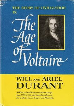The Story of Civilization: Part IX, The Age of Voltaire by Will and Ariel Durant, http://www.amazon.com/dp/B0025QKZFC/ref=cm_sw_r_pi_dp_3818qb04R4QPN