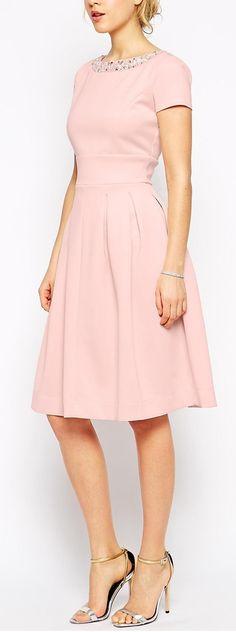 debutante embellished dress