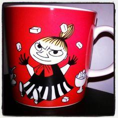 #muumimuki #moominmug #pikkuMyy #punainen #yule2015 #joulu2015 #Muumit #moomins #Tokmanni 10€
